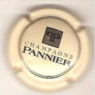 CAPSULE MUSELET CHAMPAGNE PANNIER  (noir Sur Jaune) - Pannier