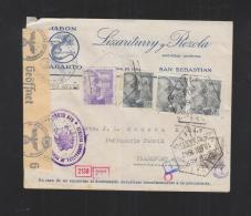 Correo Aereo San Sebastian 1942Censura - 1931-Heute: 2. Rep. - ... Juan Carlos I