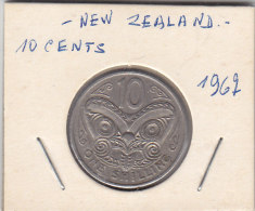 10 CENTS 1962 - Nouvelle-Zélande
