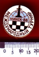 Schaken Schach Chess Ajedrez échecs - Minsk 1988 - Jeux