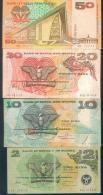 Papua New Guinea, 4 X Banknotes, 2 - 50 KINA ! - Papua-Neuguinea