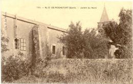 30/CPA - Notre Dame De Rochefort - Jardin Du Nord - Rochefort-du-Gard