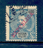 ! ! Mozambique - 1911 D. Carlos 400 R - Af. 115 - Used - Mozambique