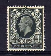 Great Britain - 1935 -  4d Definitive - MH - Unused Stamps