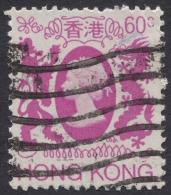 Hong Kong, 60 C. 1982, Sc # 393, M # 393, Used. - Hong Kong (...-1997)