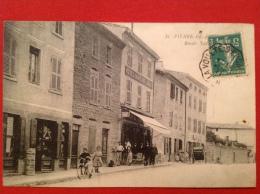 Cpa 42 SAINT PIERRE DE BOEUF Hotel De Confiance Route Nationale - Other Municipalities