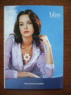 Bliss Jewels Sexy Female Carte Postale - Advertising