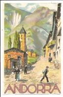 ANDORRA - Carte Couleur - Andorre
