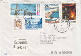 Argentinien 1967. R-Brief Nach Luxemburg (5.058) - Argentinien