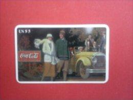 Phonecard Coca-Cola Retro America (Mint,Neuve) Rare - Telefoonkaarten