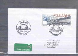 Sverige - öresundsförbindelsen - Malmö 29/8/1999  (RM2608) - Trains