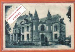 Carte Postale 35. Bonnemain Chateau Des Diablaires  Traction Citroën Trés Beau Plan - France