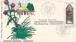 Argentinien-La Plata 1982, Navidad, Weihnachten (5.060) - Argentinien