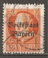 BAYERN - MI.NR. 123 II A O - Bavière