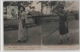 Vietnam-Indochine-Yen The La Boucher De La Colonne - Viêt-Nam