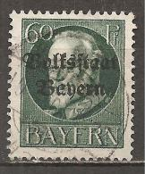 1919 - BAYERN - MI.NR. 126 II A O - Bavière