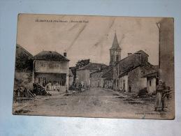 Carte Postale Ancienne : ALLIAINVILLE : Centre Du Pays , Animé - Autres Communes