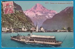 Bateau à Vapeur Sur Le Lac Des 4 Cantons - Flüelen - Dampfschiff - Altri
