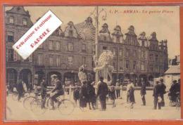 Carte Postale 62. Arras  La Petite Place Trés Beau Plan - Arras