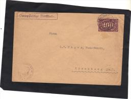 Allemagne - Lettre D´inflation De Dresden 1923 Pour Kirchberg - Deutschland