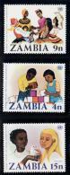 Zambia Yvertnrs: 174/76 Postfris - Zambie (1965-...)