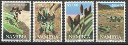 """NAMIBIA SET 4 PCS """"WELWITSCHIA MIRABILIS"""" 2000 NEW - Namibie (1990- ...)"""