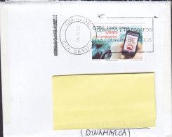 "Spain ""Petite"" SEVILLA 2012 Cover Letra To Denmark Smartphone Stamp - 1931-Heute: 2. Rep. - ... Juan Carlos I"