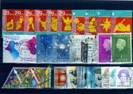 Nederland, Holanda, Sellos Usados  Lote 02 - Periodo 1980 - ... (Beatrix)