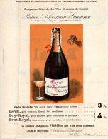 49 - SAUMUR - SAINT HILAIRE SAINT FLORENT - ACKERMAN-LAURANCE- VIN MOUSSEUX - 1896 - Publicités