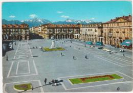 2706.   Cuneo - Piazza Duccio Galimberti - Auto - Car - Voiture - Bus - 1967 - Cuneo