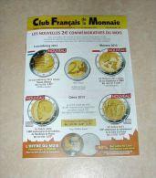 Catalogue Club Français De La Monnaie Novembre 2013 N° 171 - Français