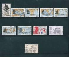 France Timbres De 1988  Oblitérés  N°2516  A  2526 - Usati