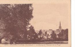 56  CARNAC - 2973 -  Le Bourg Et L'Avenue De La Plage - Carnac