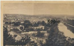Ansichtskarte Weissenfels, Gesamtansicht - Weissenfels