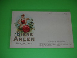 MONTBELIARD - Biere ARLEN  / 25 / Doubs - Montbéliard