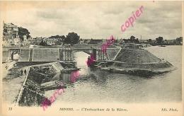 58. NEVERS .  L'Embouchure De La Nièvre . - Nevers