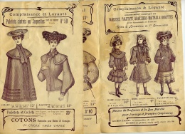 """PUBLICITE Pour CONFECTION MODE FEMME Et CHAPEAUX """" Maison FROISSART """" 54 TOUL - Patrons"""