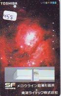 Télécarte Japon ESPACE * Phonecard JAPAN * SPACE  (458)  PLANETE * Météorite * COSMOS - Espace