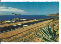 "AEROPUERTO - AIRPORT - AEROGARE.- "" SANTA CATARINA "" - SANTA CRUZ ( MADEIRA-PORTUGAL ) - Aerodrome"