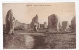 Alignements De Kermaria Menhir Carnac Morbihan France Postcard - Dolmen & Menhirs
