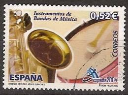 España U 4086 (o) Banda De Musica. 2004 - 2001-10 Usados