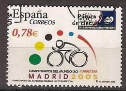 España U 4184 (o) Ciclismo. 2005 - 2001-10 Usados
