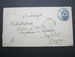 1892, Ganzsache - 1857-1916 Imperium