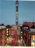 (536) UK - London - Post Office Tower At Night - Correos & Carteros