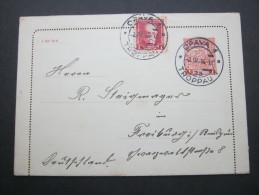 1936, Ganzsache  Verschickt Nach Deutschland - Cartas