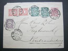 1901, Brief Nach Deutschland - Periode 1891-1948 (Wilhelmina)