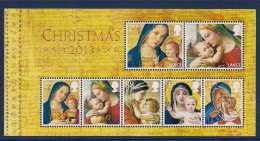 GB ~ 2013 ~ Christmas ~ MS ~ MNH/UMM - Unused Stamps