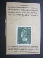 1948, Post Ausweiskarte - Periode 1891-1948 (Wilhelmina)
