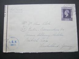 1947, Zensurbrief - Periode 1891-1948 (Wilhelmina)