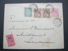 1900, Einschreiben - Periode 1891-1948 (Wilhelmina)